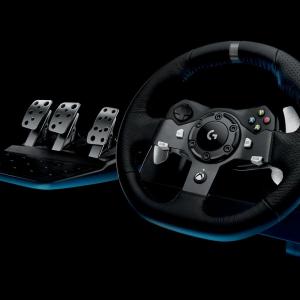 Logitech G920 Steering Wheel + Pedals