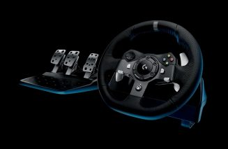Logitech G920 Steering Wheel and Pedals